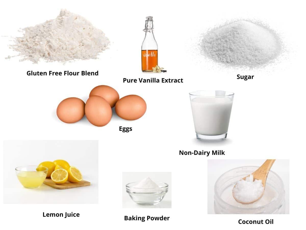 lemon cupcakes ingredients