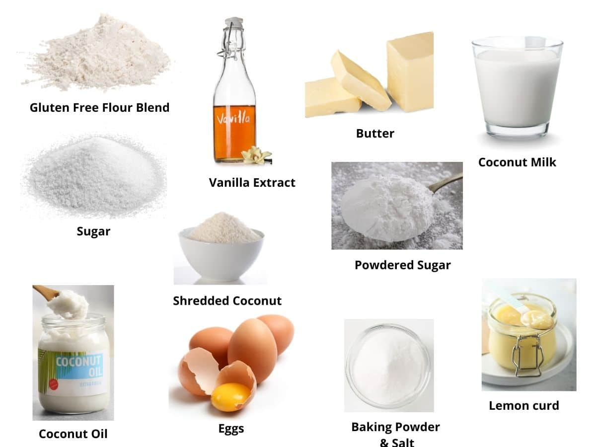 lemon filled cupcakes ingredients