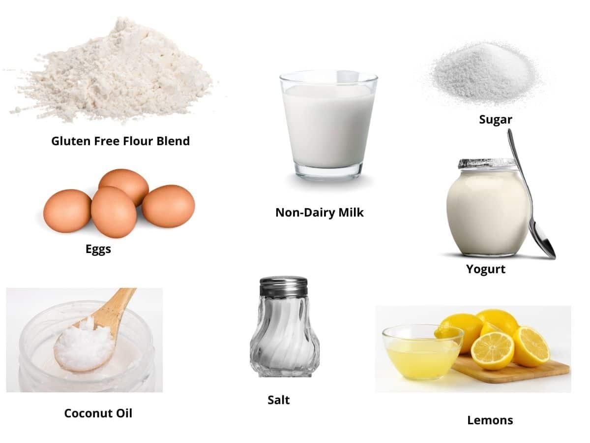 lemon yogurt cake ingredients