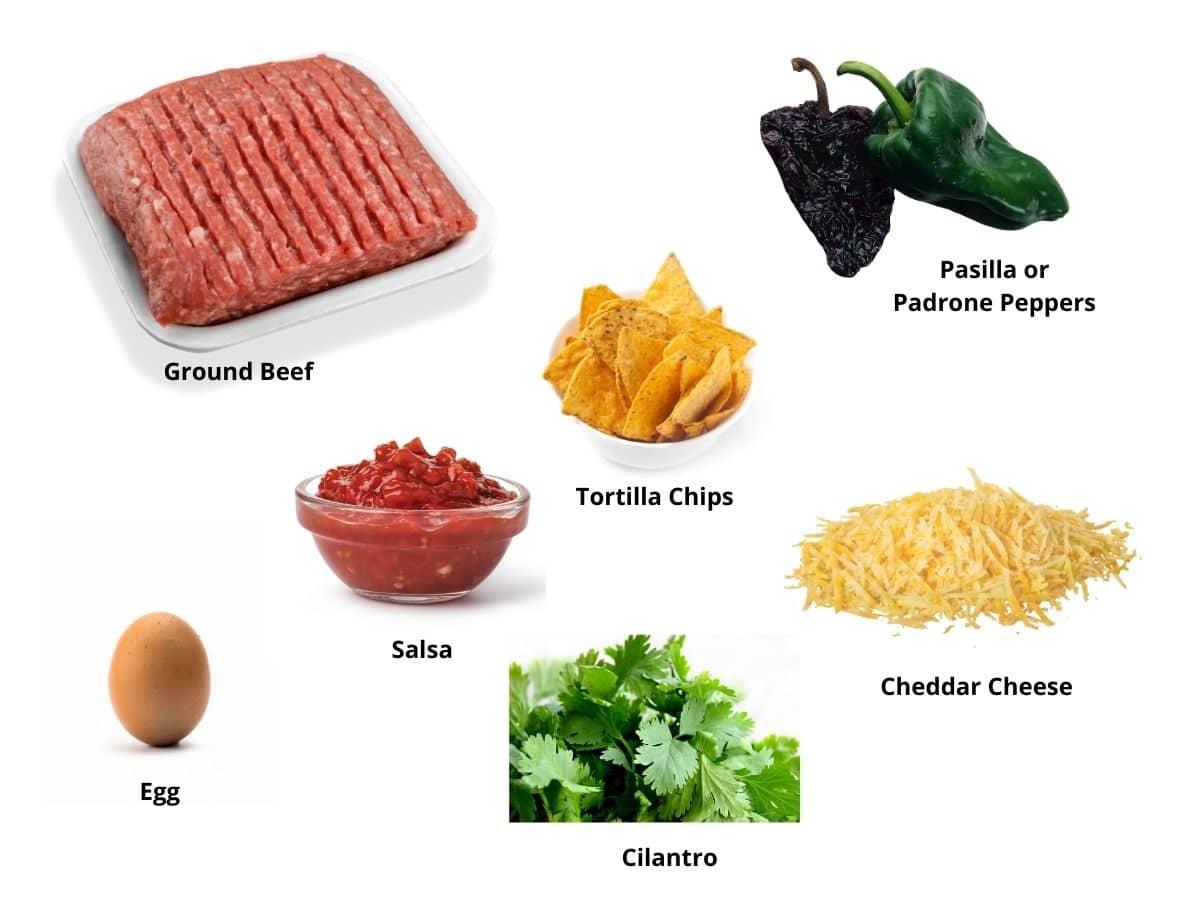 meatloaf burgers ingredients
