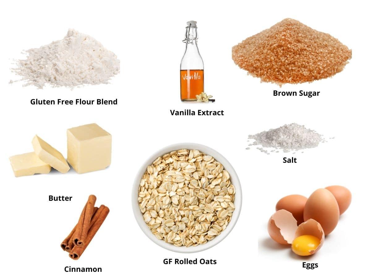 oatmeal skillet cookie ingredients
