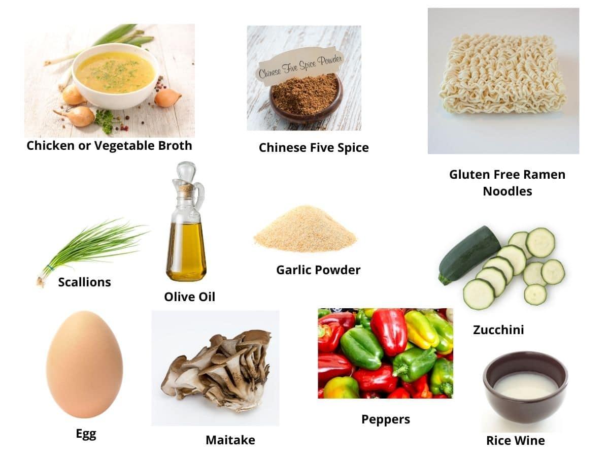 gluten free ramen ingredients