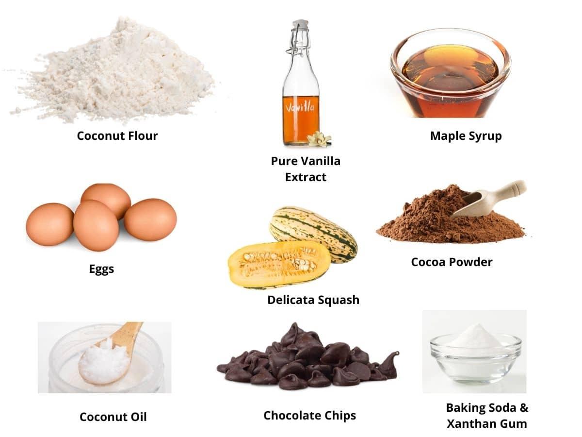 healthy brownies ingredients