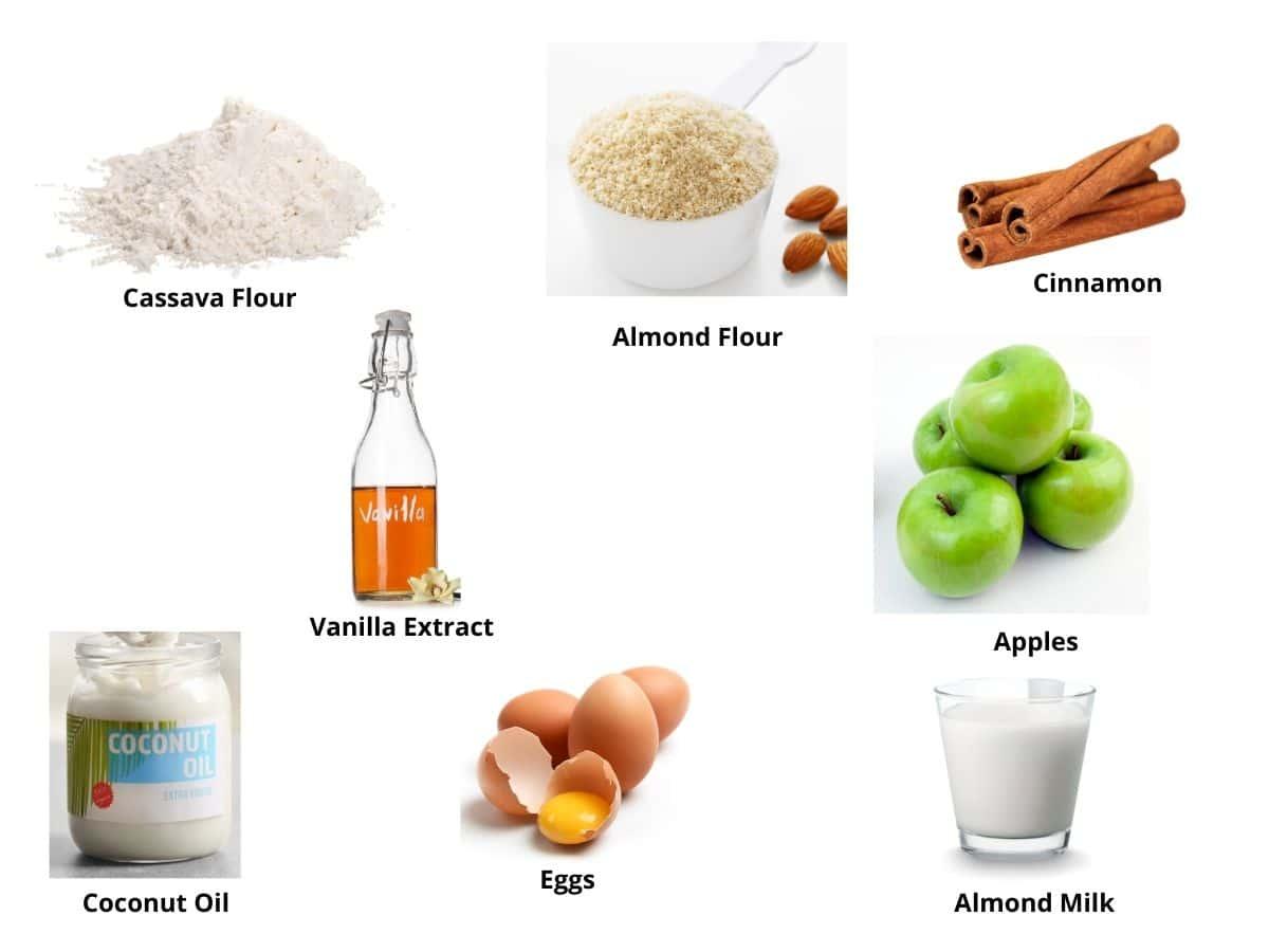 almond flour donuts ingredients