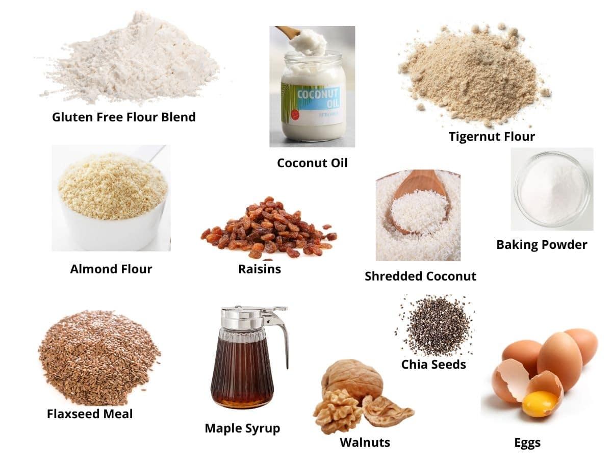 breakfast bars ingredients
