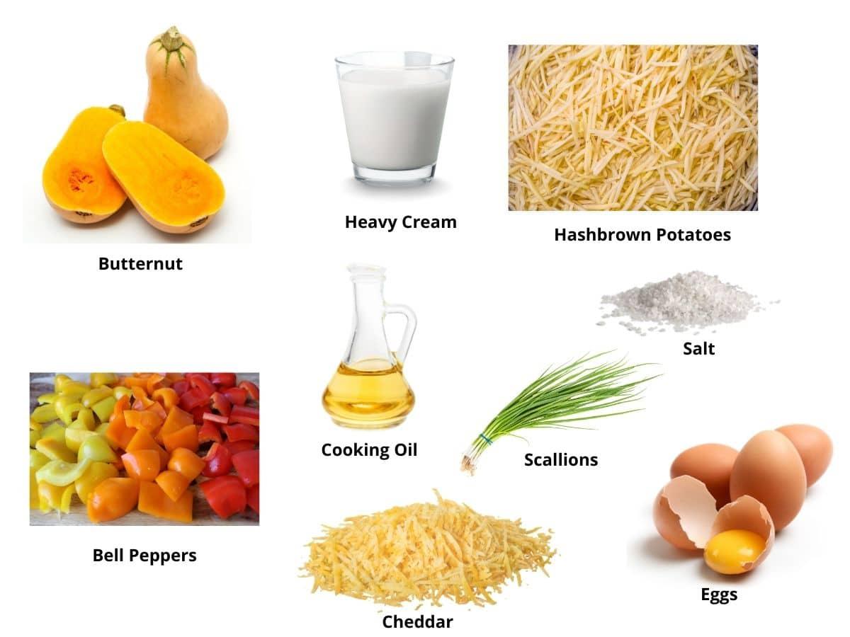 butternut squash hash ingredients