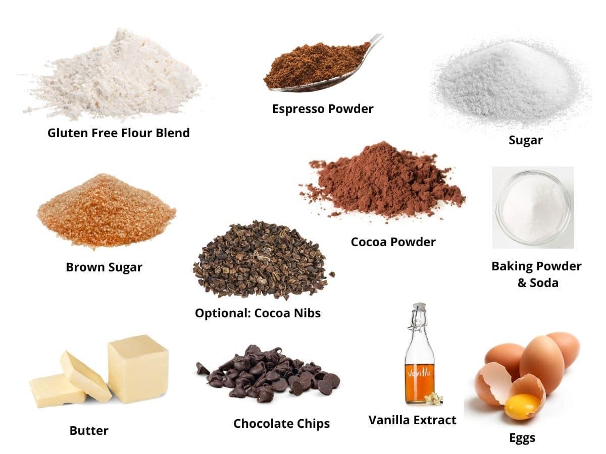 chocolate espresso cookies ingredients