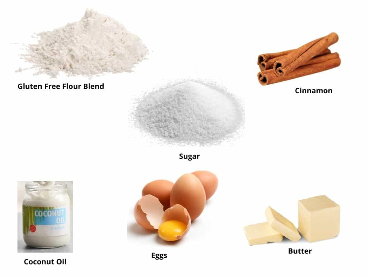 gluten free churros ingredients