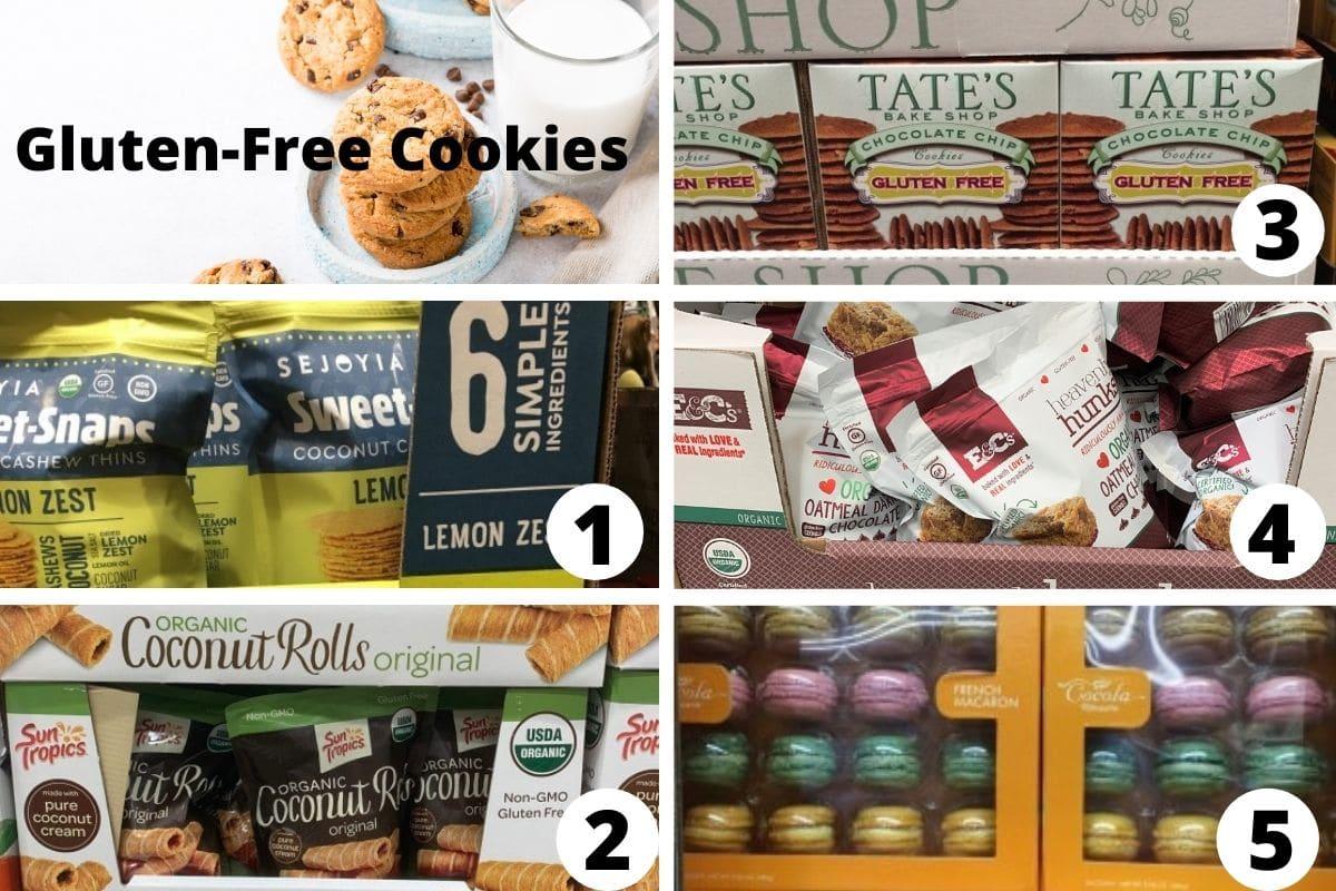 costco gluten free cookies brands