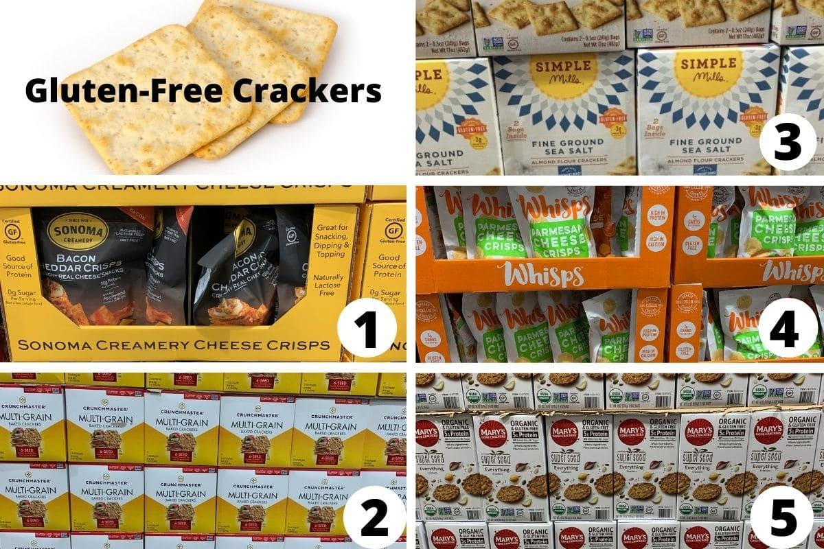 costco gluten free crackers brands