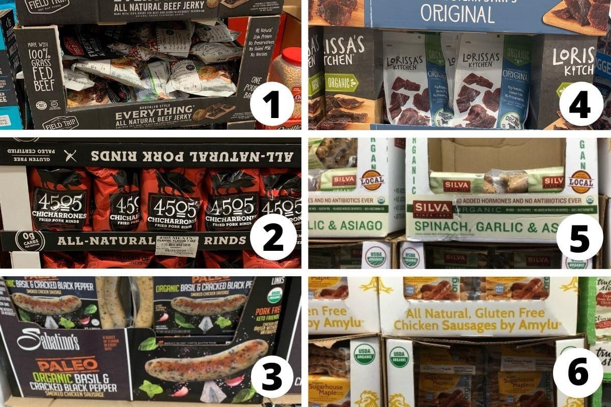 costco gluten free misc foods