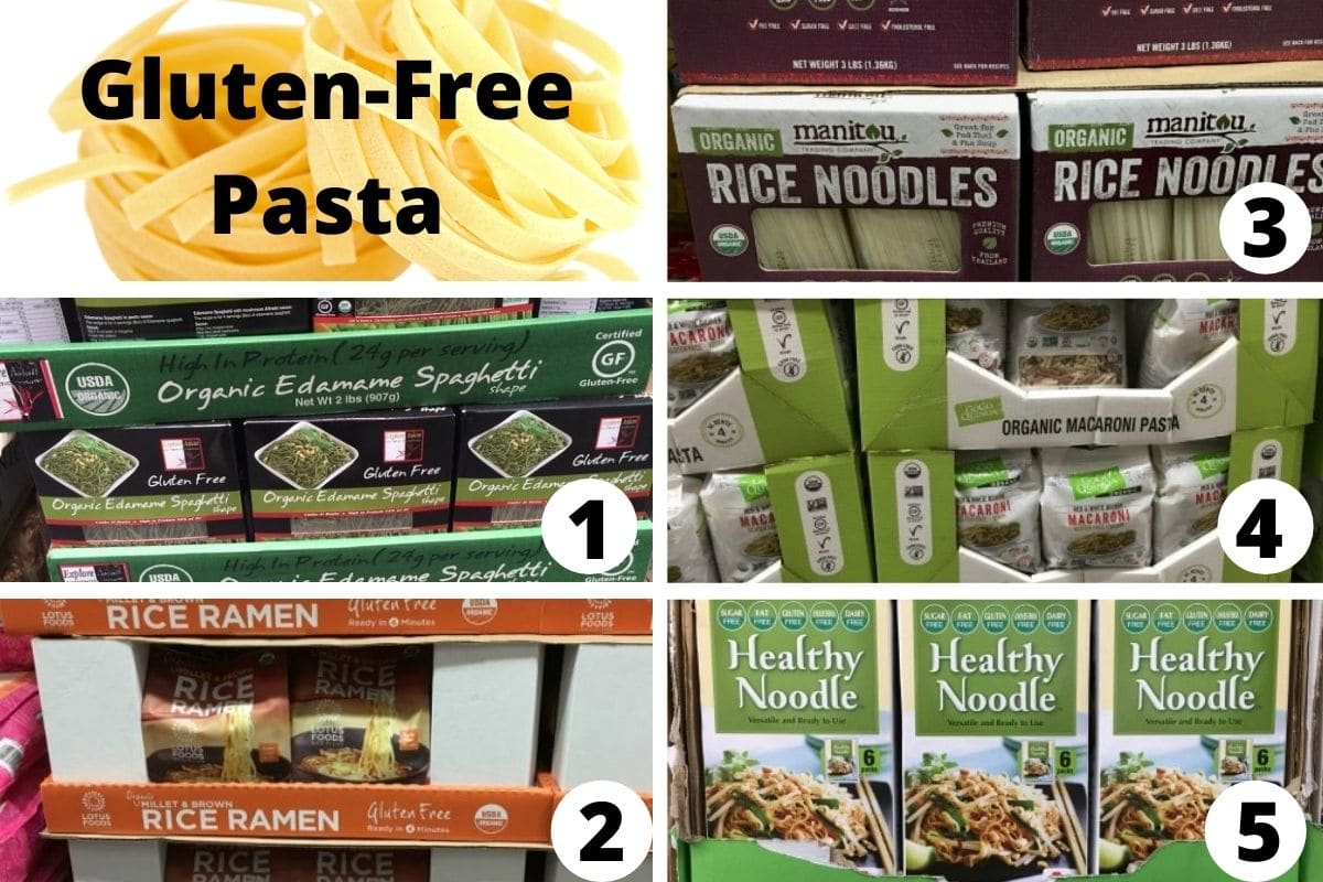 costco pasta brands carried in stores