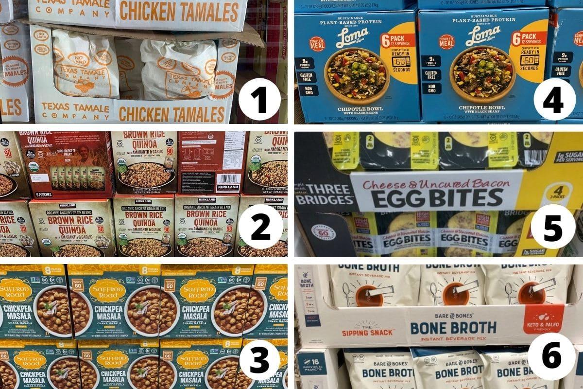 more gluten free prepared meals at costco