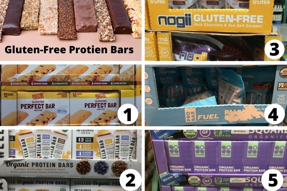 Costco protein bars brands