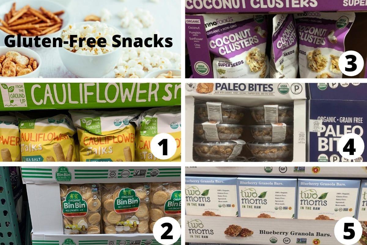 costco gluten free snacks brands