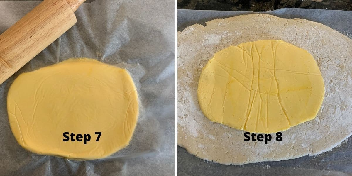 crescent rolls steps 7 and 8