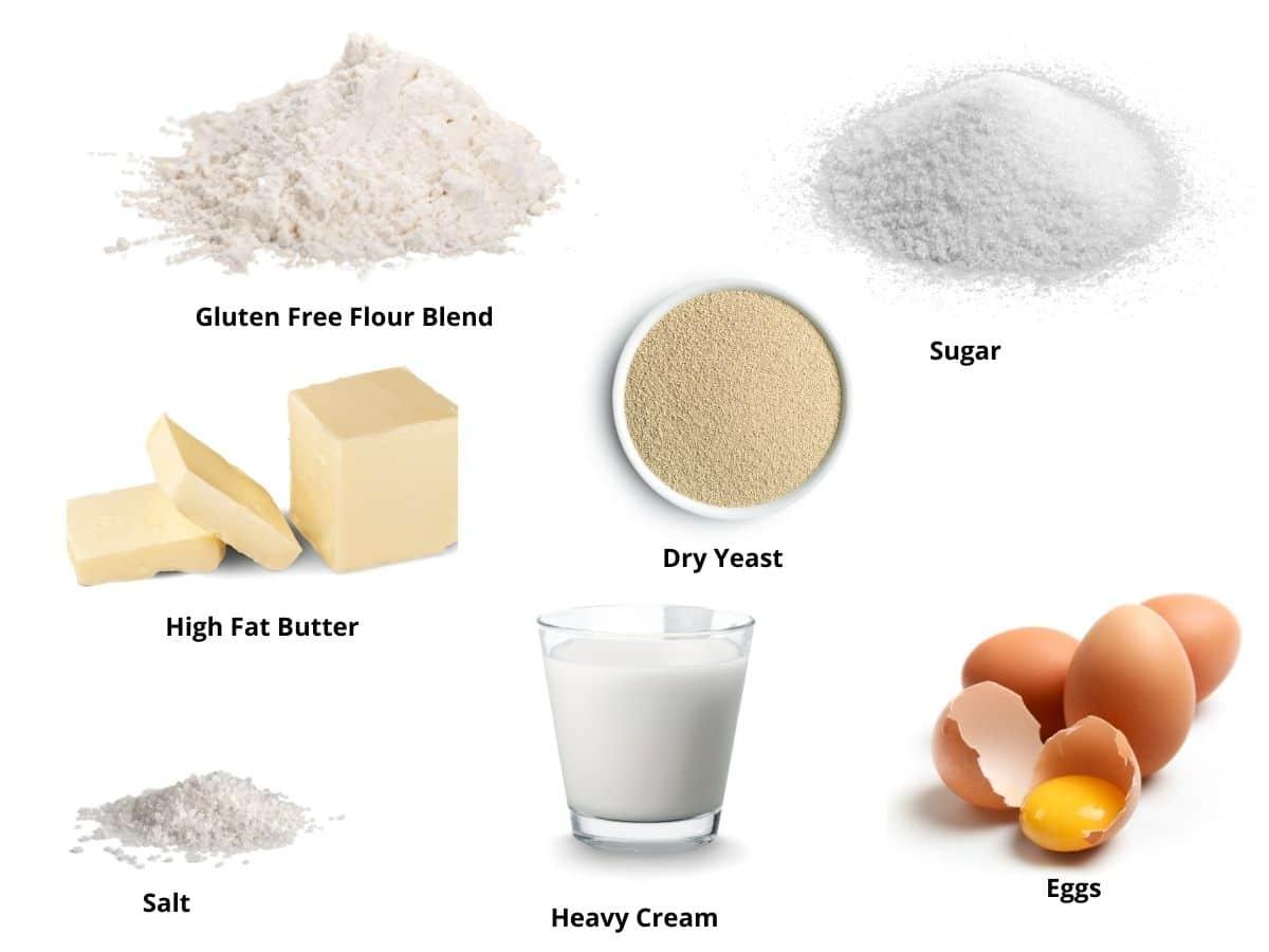 gluten free crescent rolls ingredients