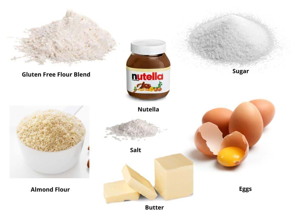 gf linzer cookies ingredients