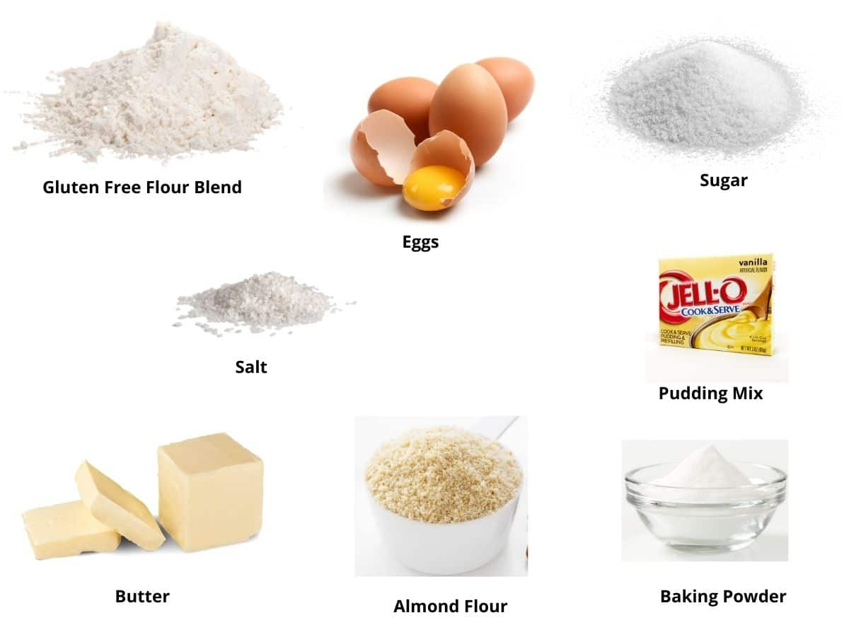 gf vanilla donuts ingredients