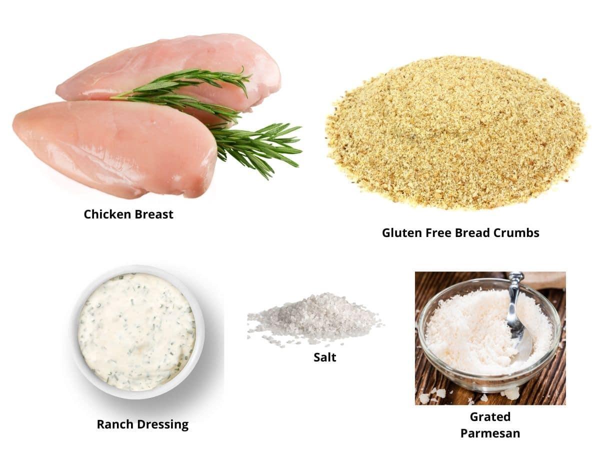 gluten free chicken nuggets ingredients
