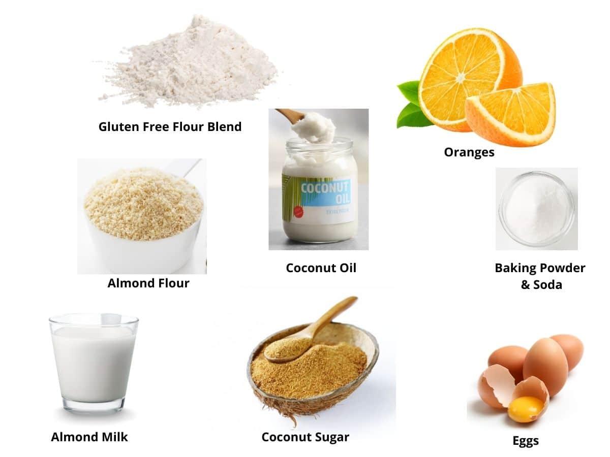 gluten free orange cake ingredients