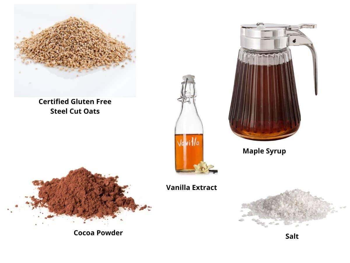 gluten free steel cut oats ingredients