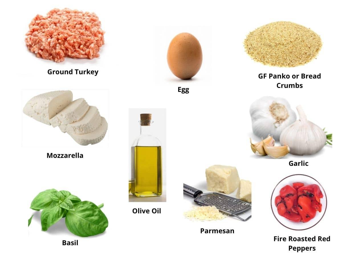 gluten free ground turkey ingredients