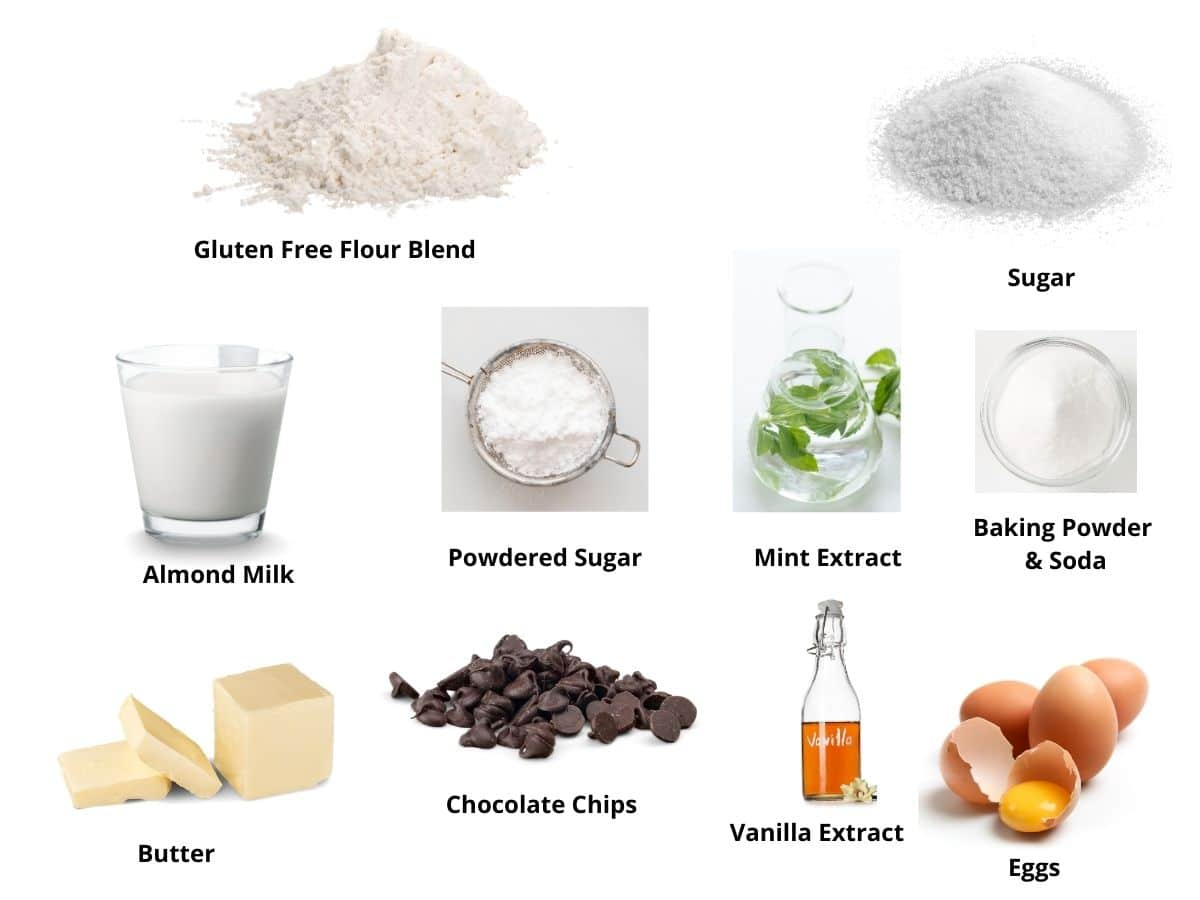 mint chocolate chip cake ingredients