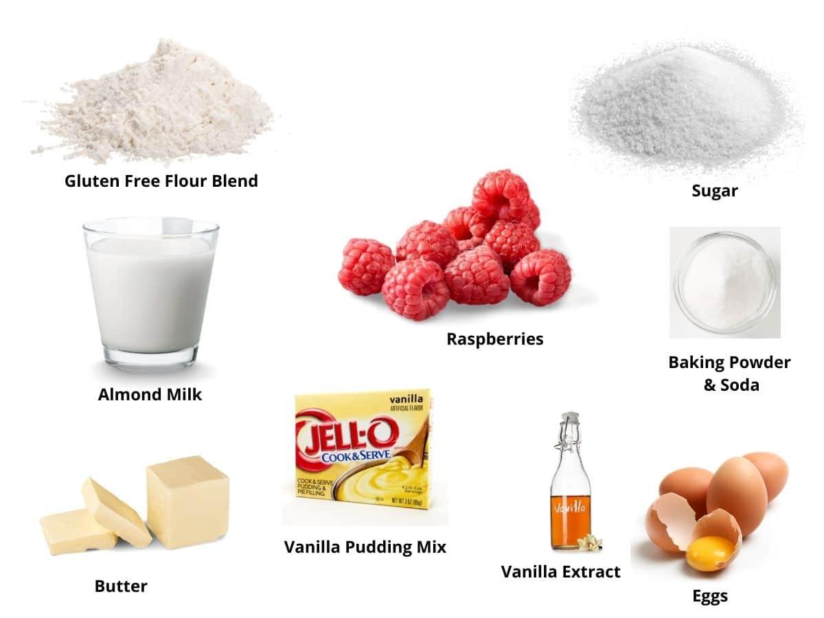 vanilla bundt cake ingredients