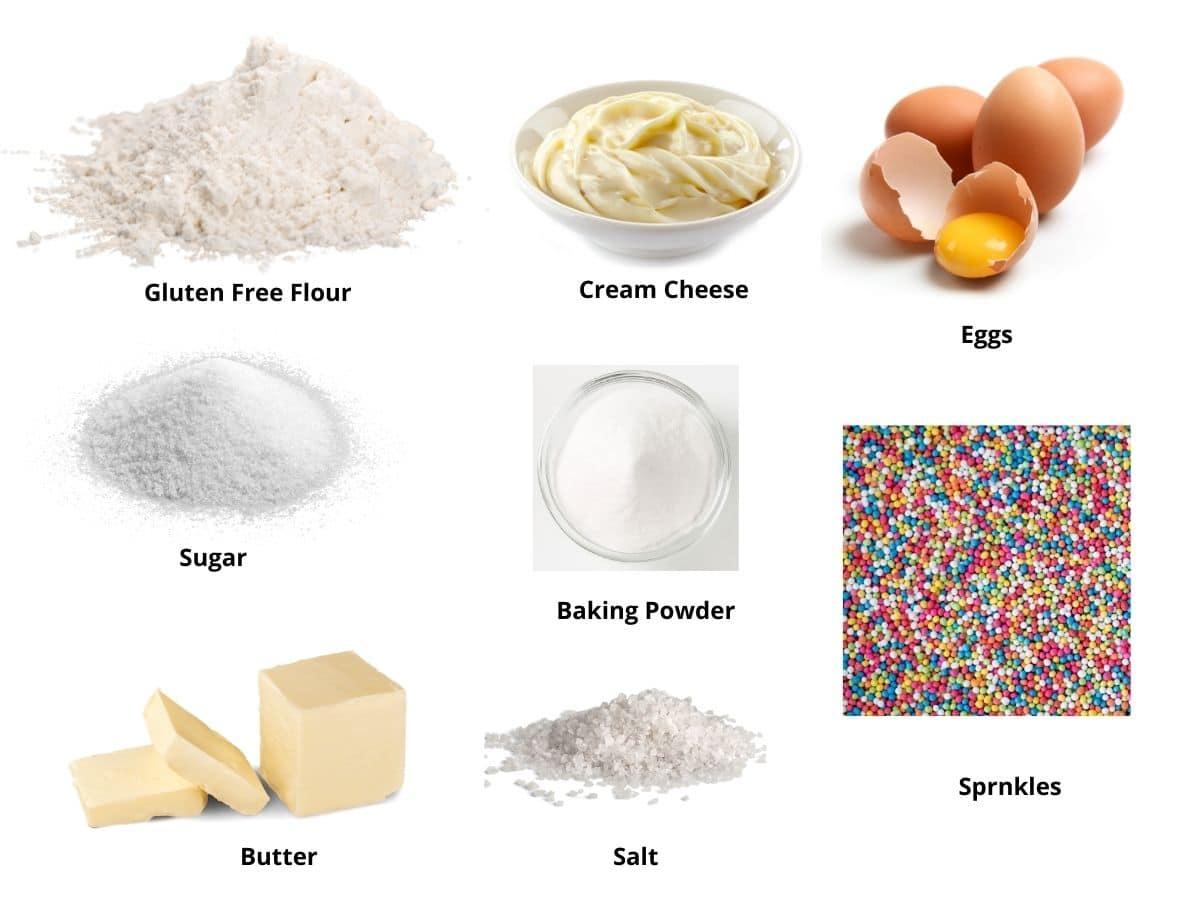 cream cheese sugar cookies ingredients