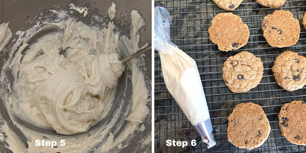 oatmeal cream pies photos of steps 5 and 6