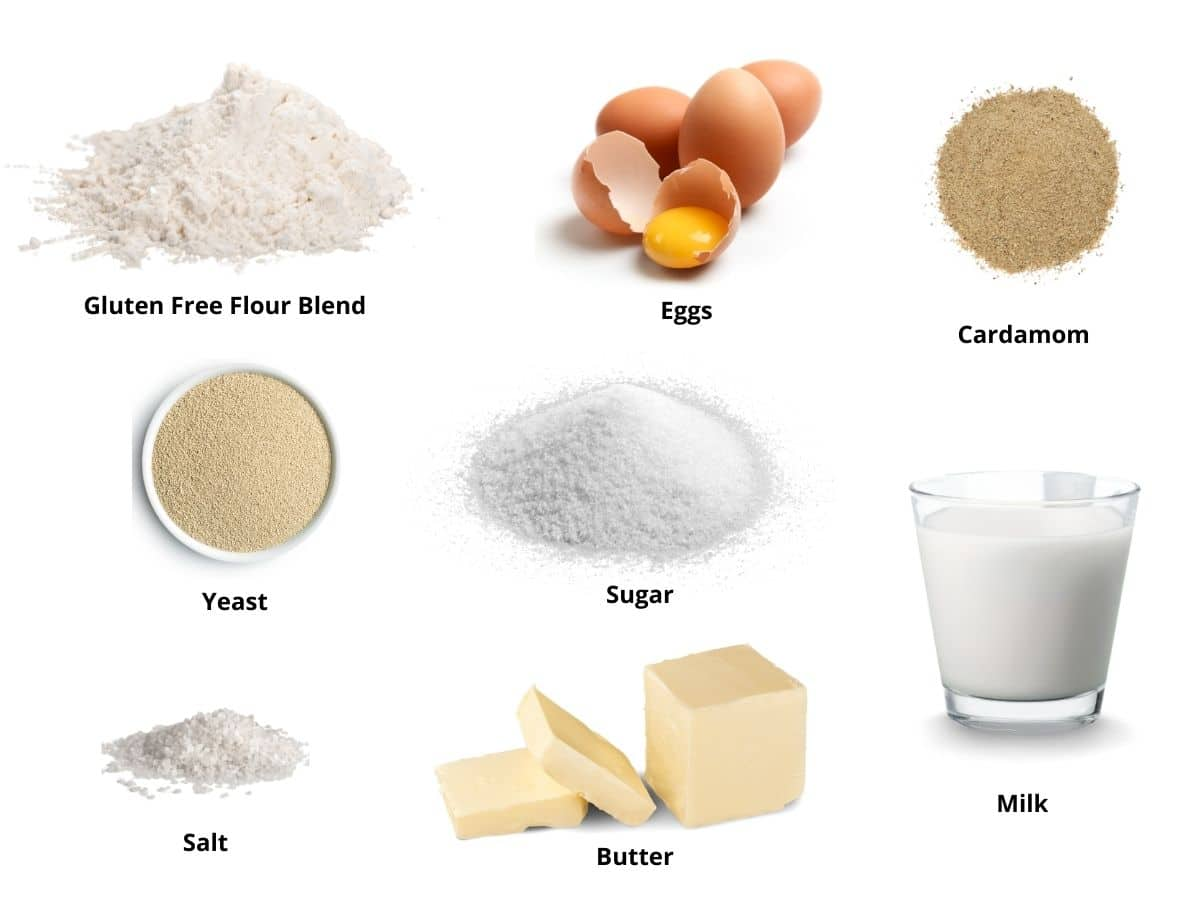 gluten free pastry ingredients