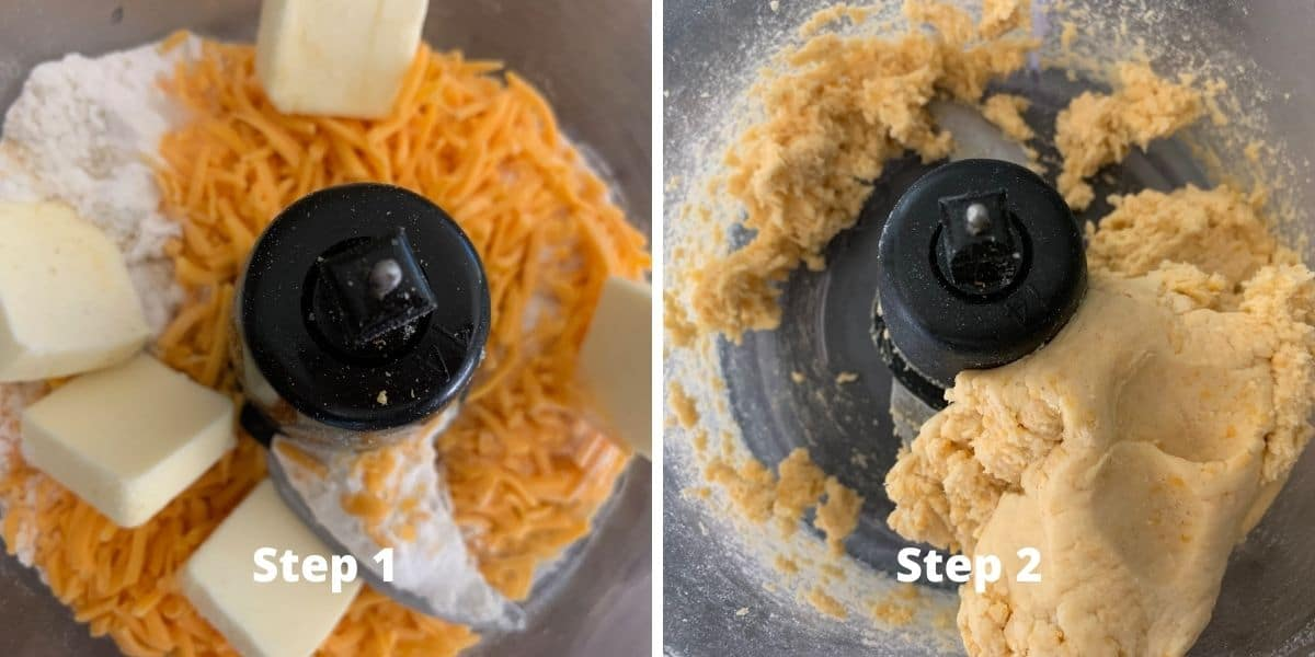gluten free cheez its steps 1 and 2 photos