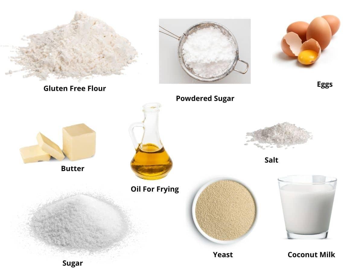 beignets ingredients