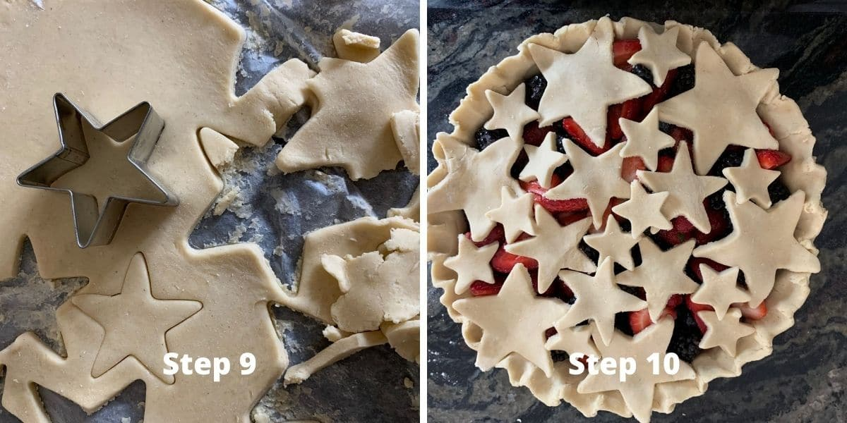 berry pie steps 9 and 10 photos