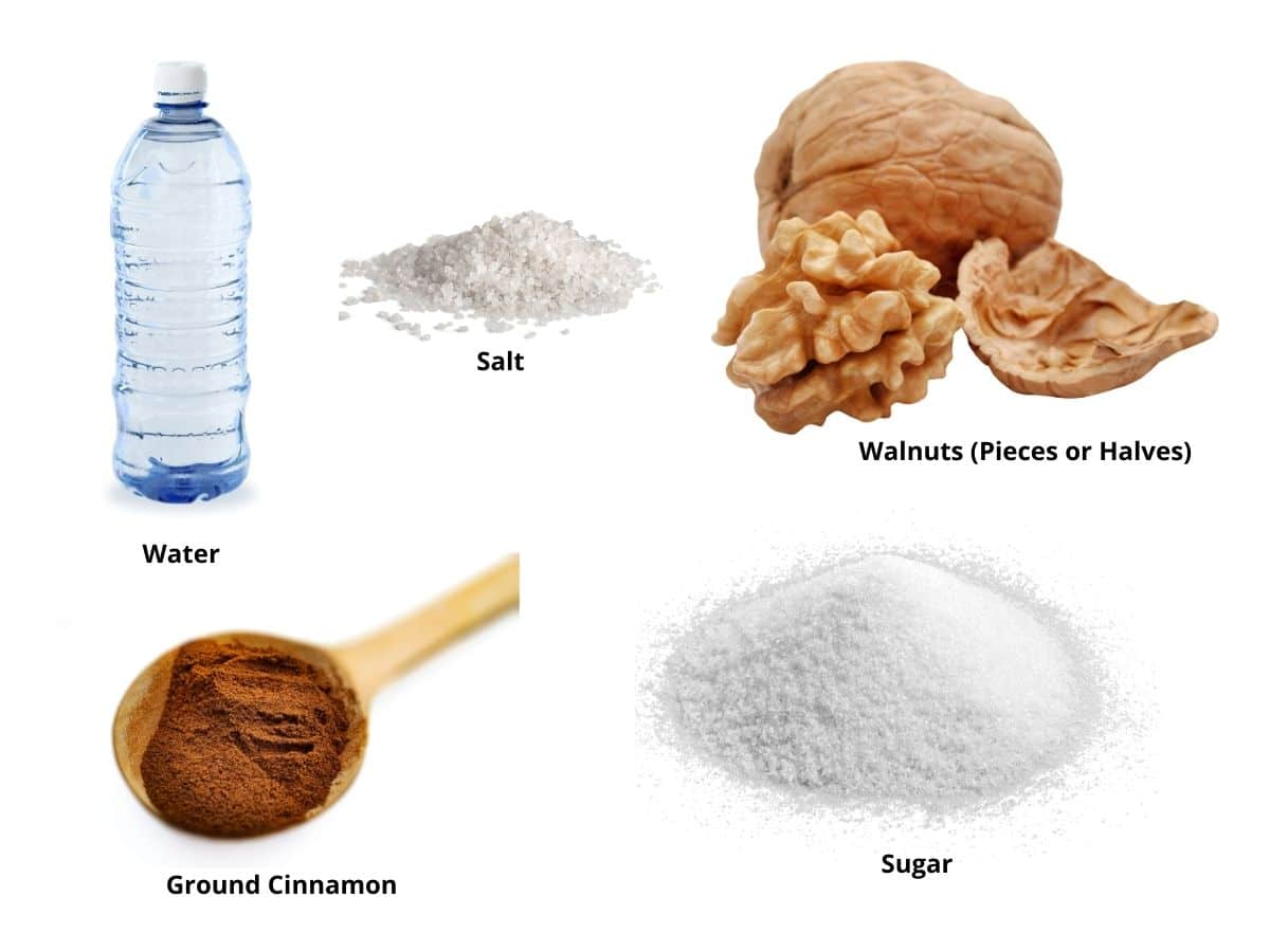 spiced walnuts ingredients