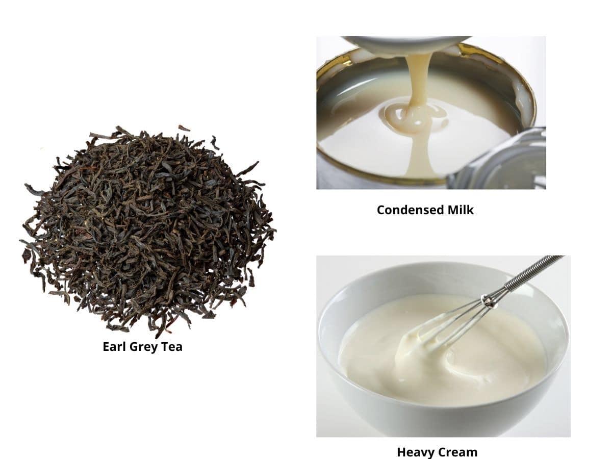 earl grey ice cream ingredients