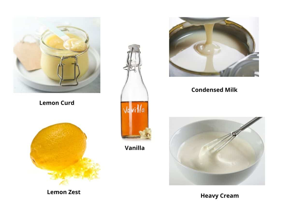 lemon ice cream ingredients