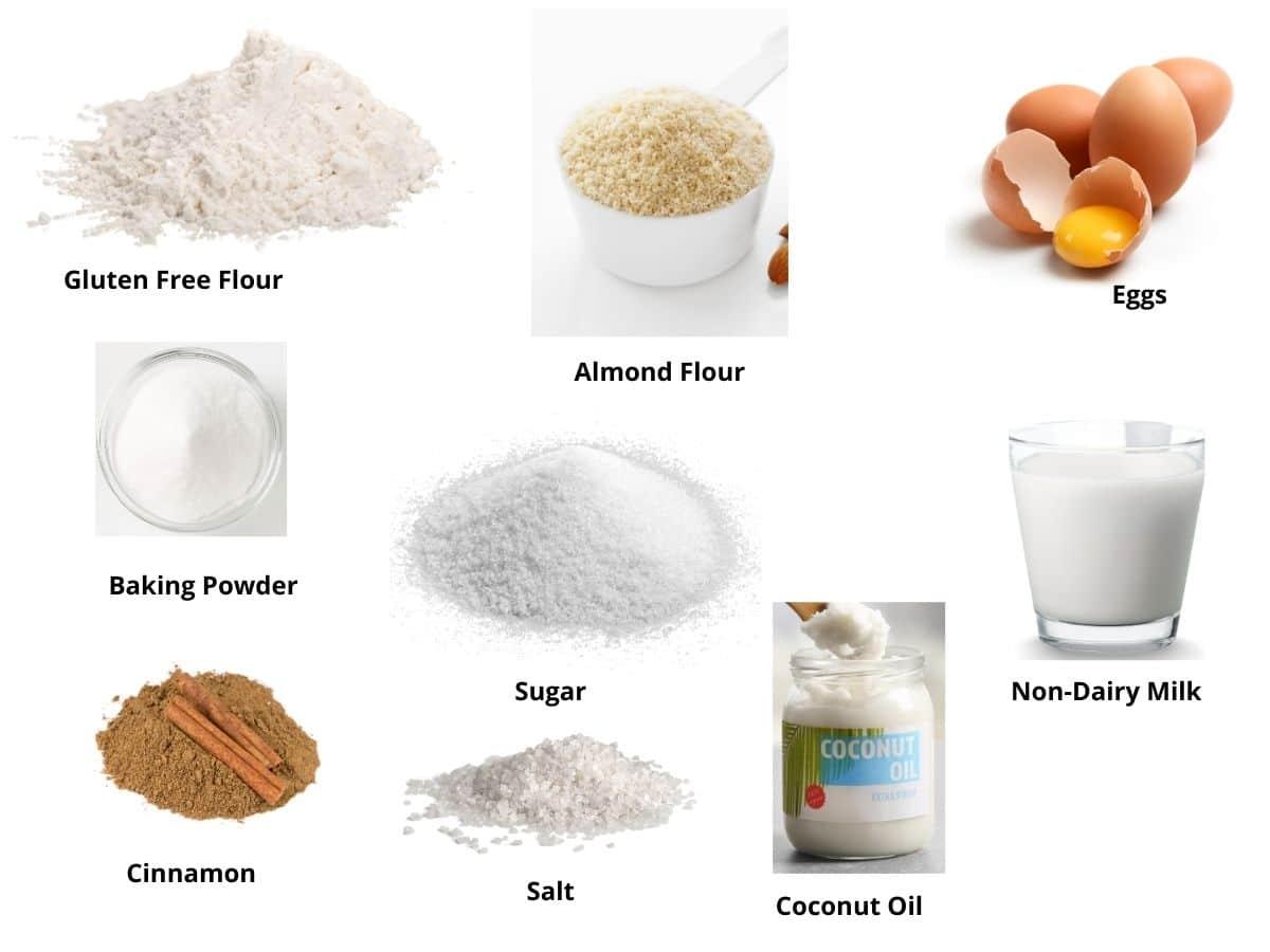 gluten free snickerdoodle mug cake ingredients