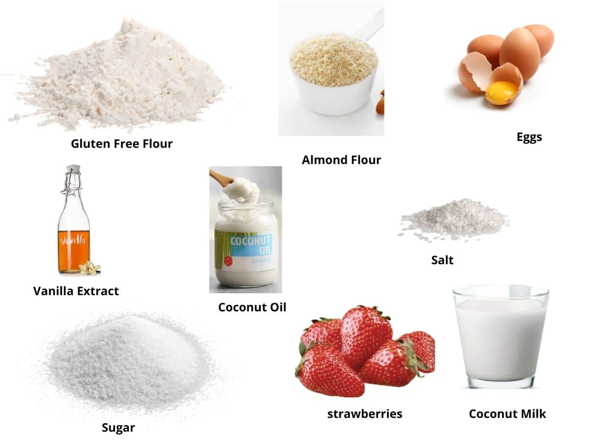 strawberry scones ingredients