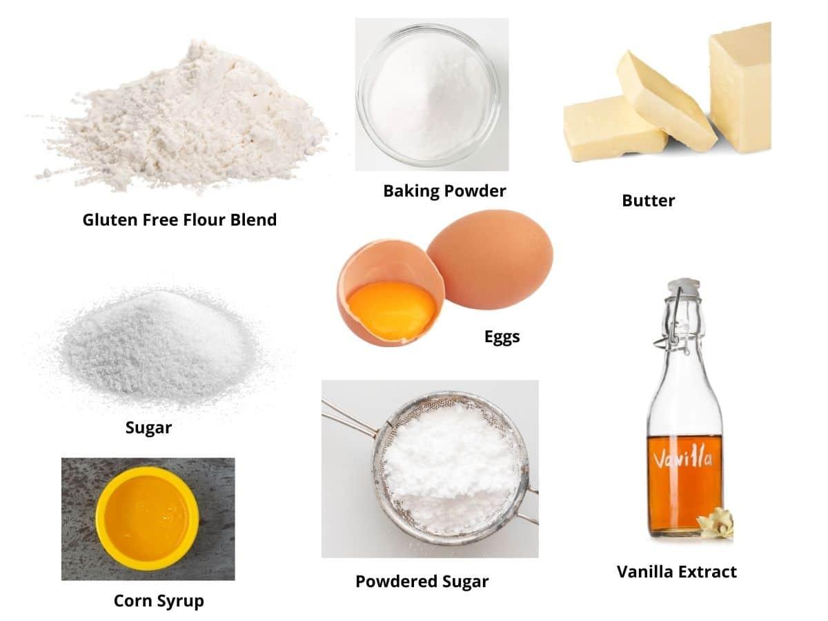 gluten free vanilla wafers ingredients