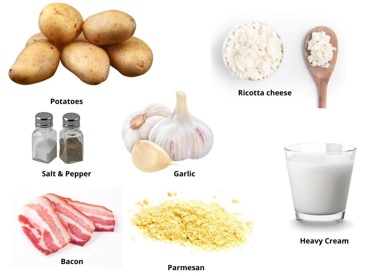 gluten free scalloped potatoes ingredients