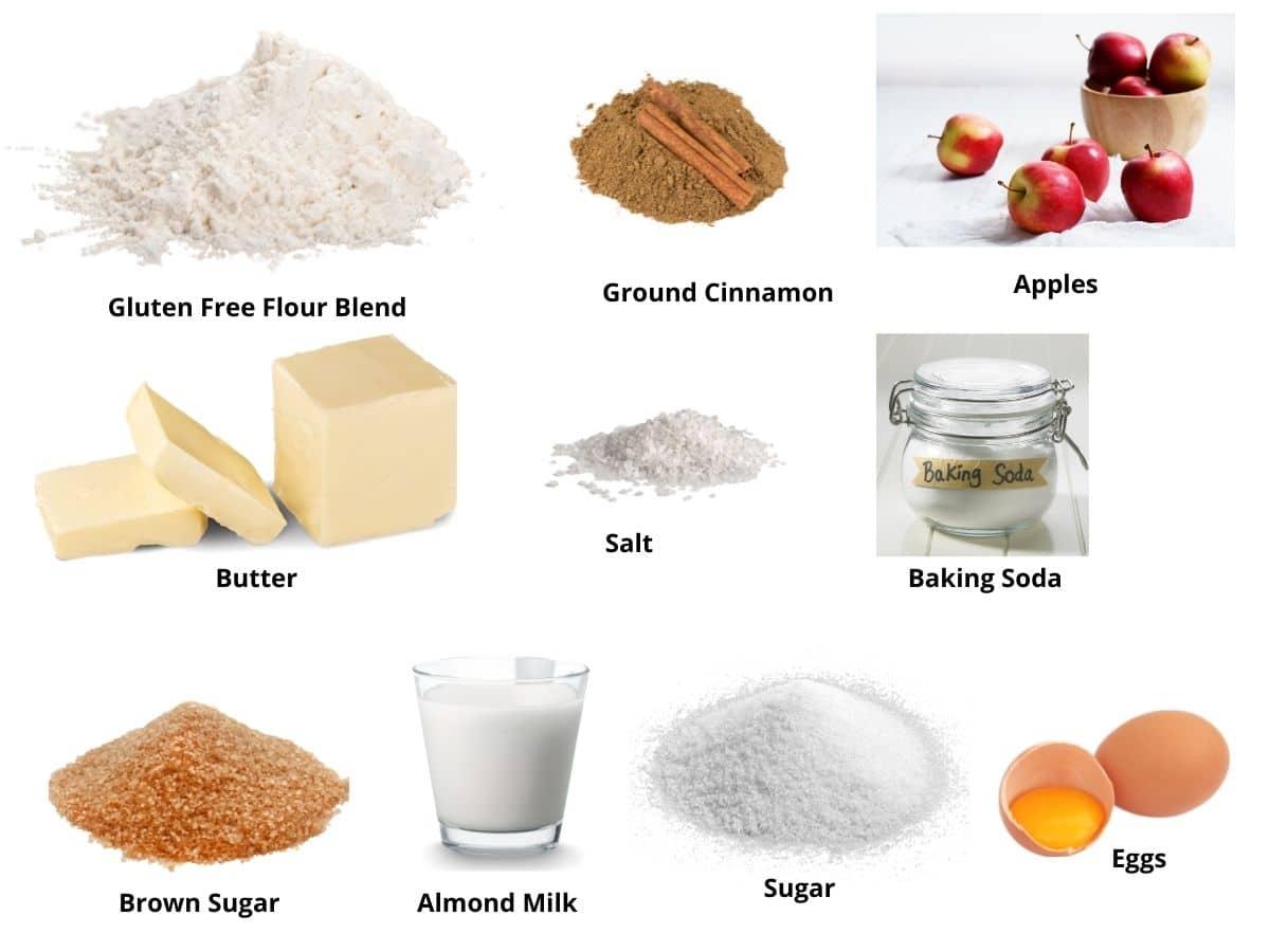 apple bundt cake ingredients