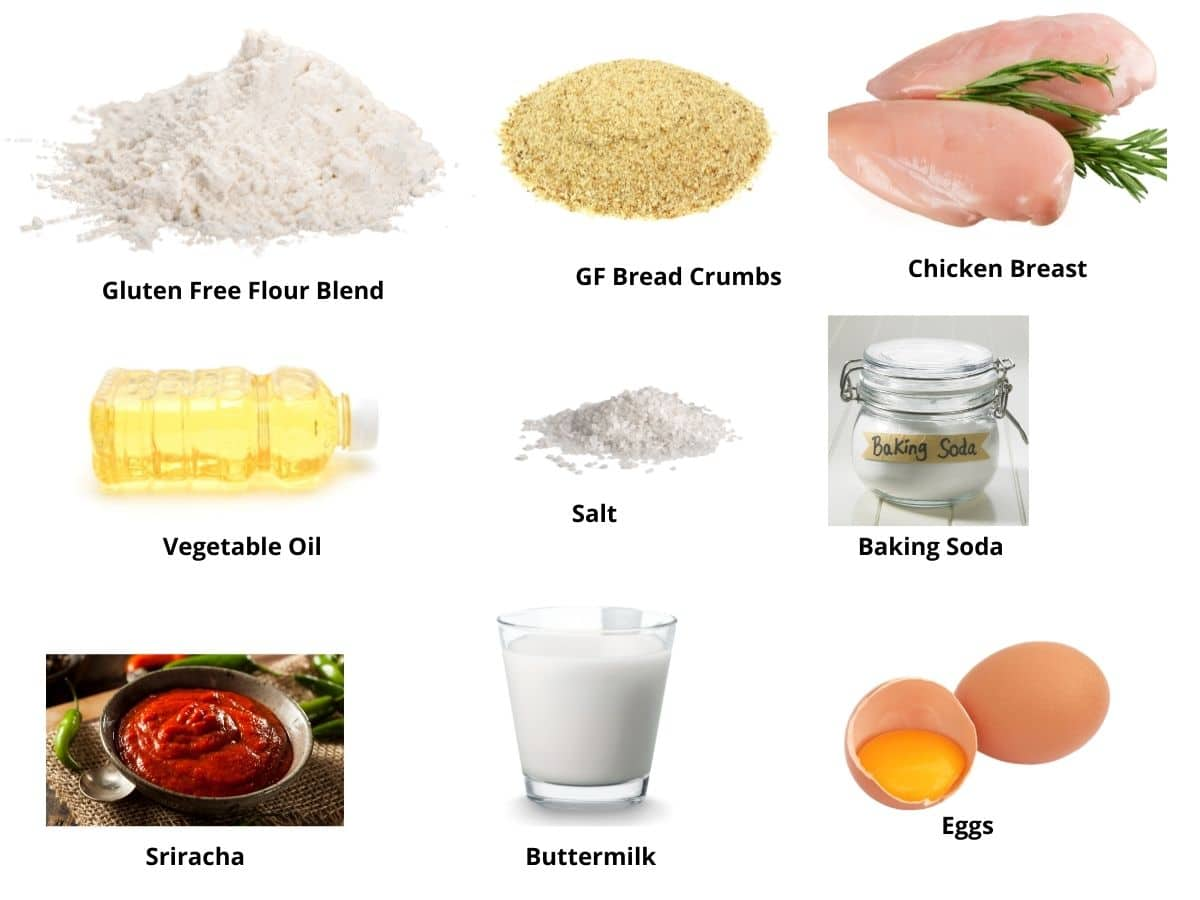 chicken and waffles ingredients