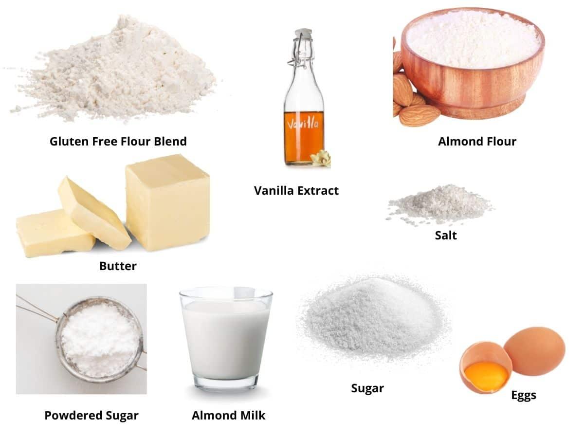 crescent cookies ingredients