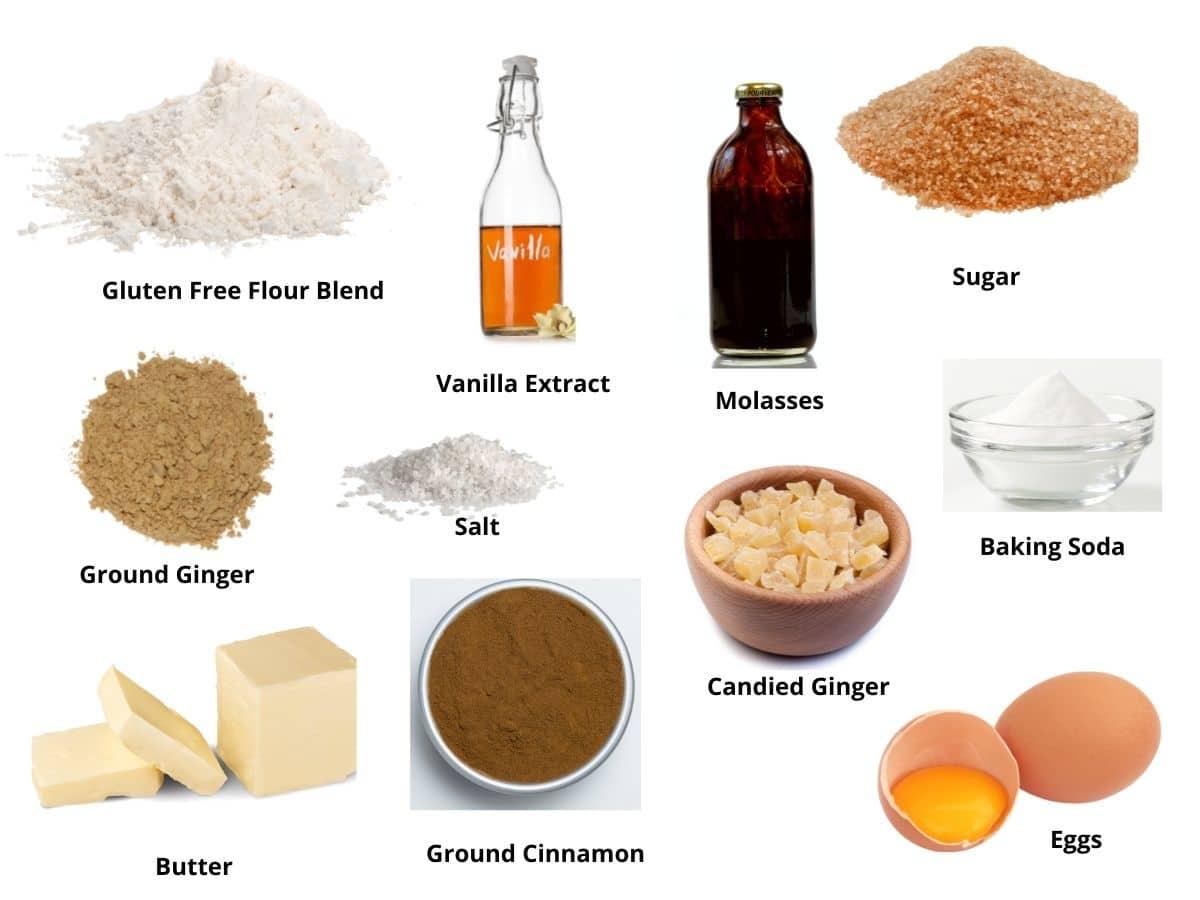 ginger cookies ingredients