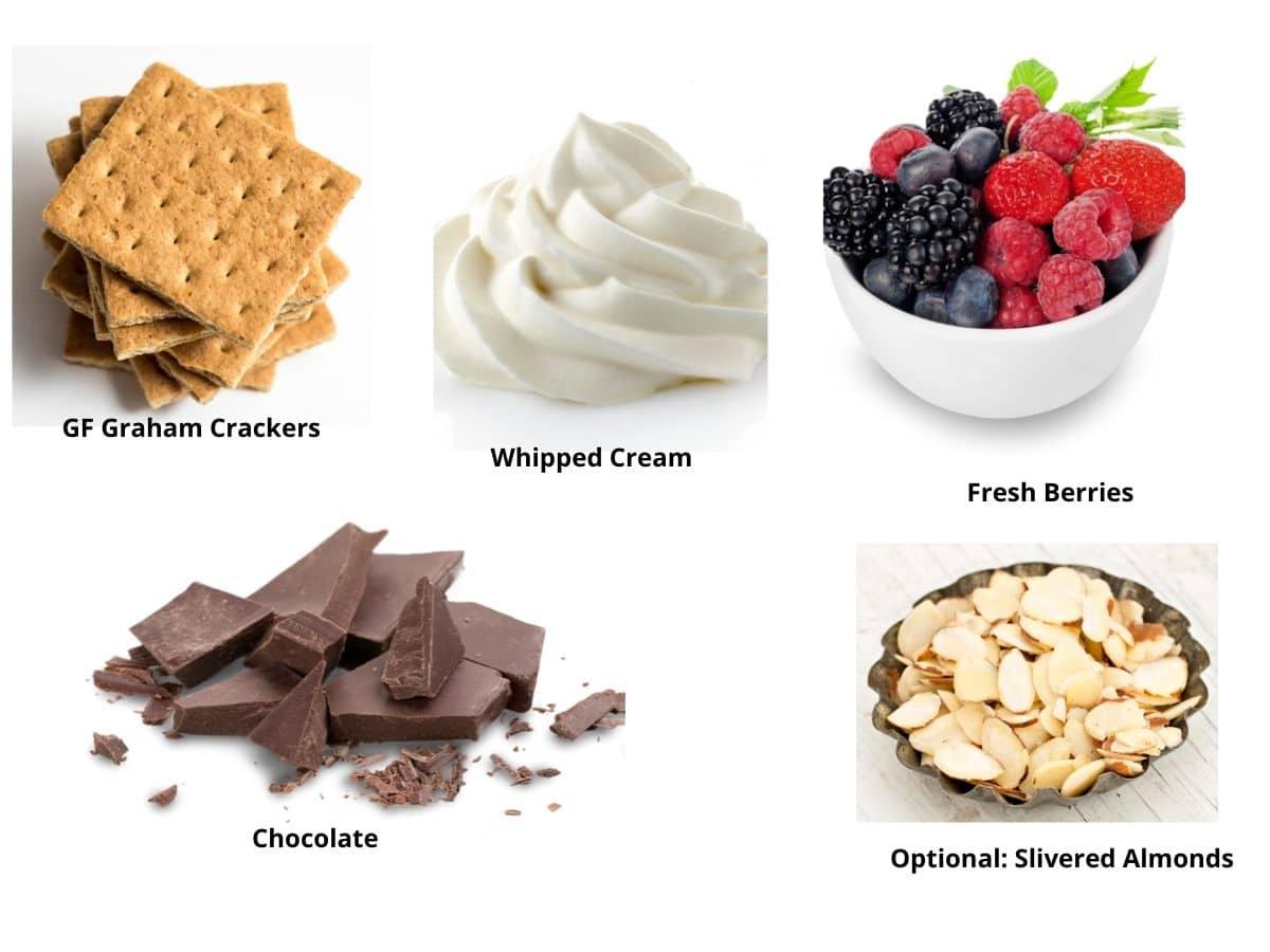 gluten free icebox ingredients