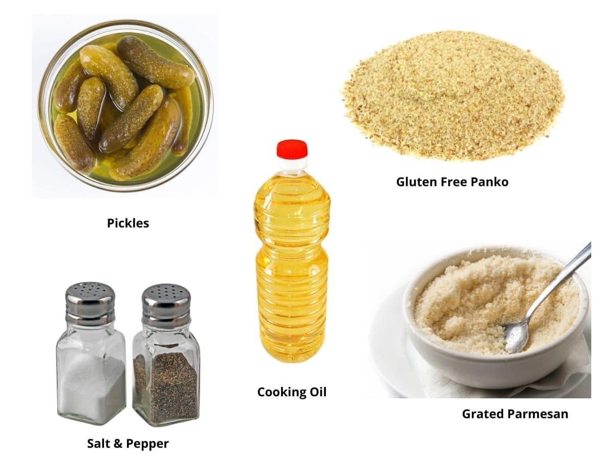 fried pickles ingredients