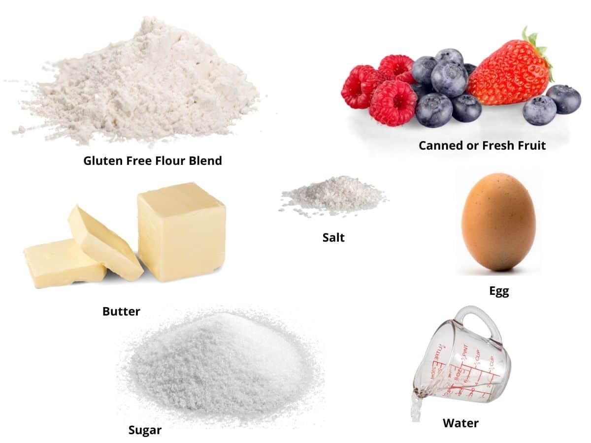 air fryer hand pies ingredients