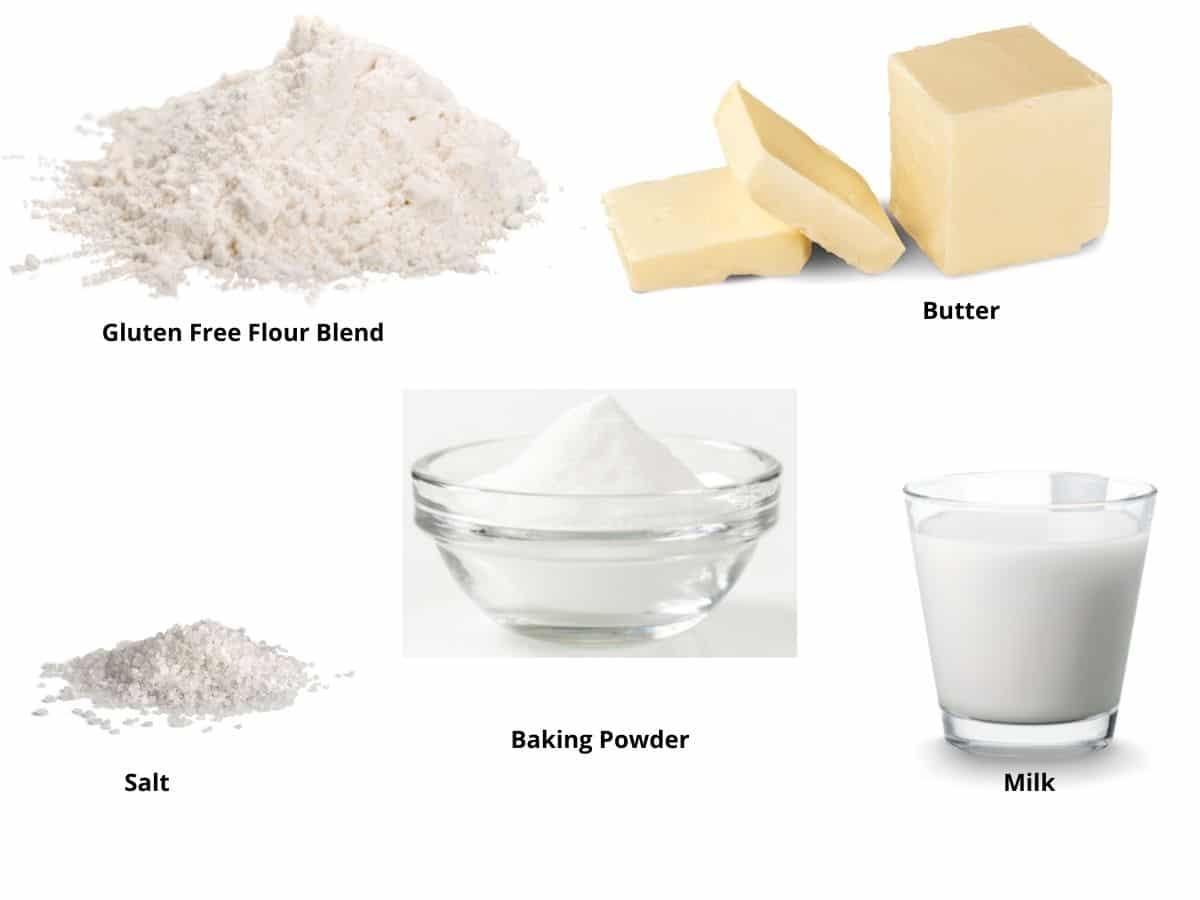 gluten free biscuit ingredients